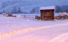 La nieve obliga al uso de cadenas en 12 puertos de la provincia de León