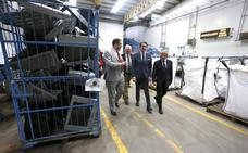 La planta de Ilunion en La Bañeza recicla el 60% de los productos eléctricos de la Comunidad