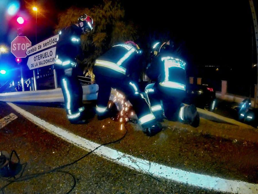 Grave accidente en Oteruelo