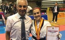 Una leonesa, bronce en el Campeoanto de España por clubes de taekwondo