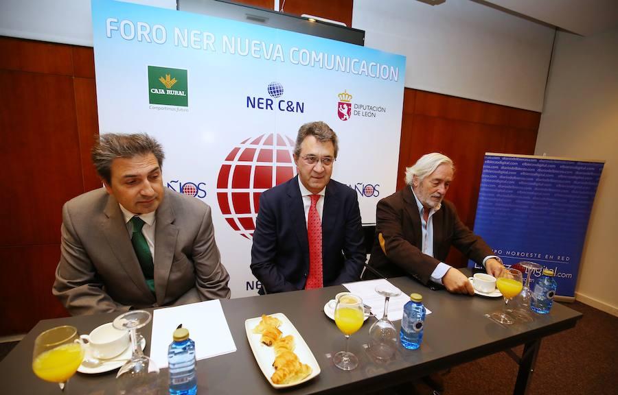 El presidente de la Diputación de León interviene en el Foro Nueva Comunicación