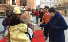 El Colegio Divina Pastora comienza la Navidad con la visita de los Reyes Magos