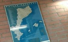Un instituto de Castellón cuelga un mapa que incluye a la Comunidad en los 'Països Catalans'