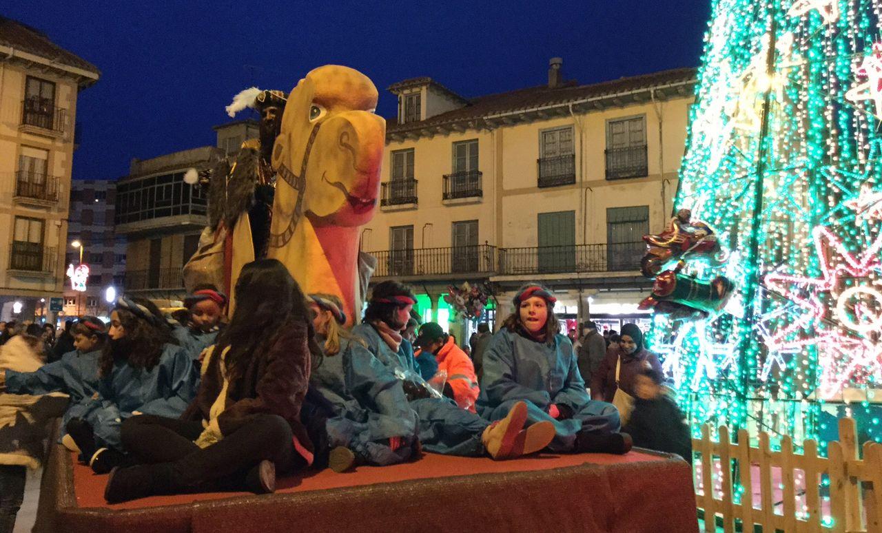 Los Reyes Magos, en Astorga