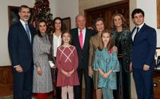El rey Juan Carlos celebra su 80 cumpleaños con una multitudinaria comida familiar