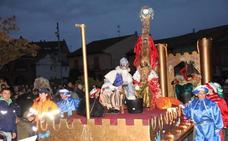 Los Reyes Magos reparten ilusión en Coyanza