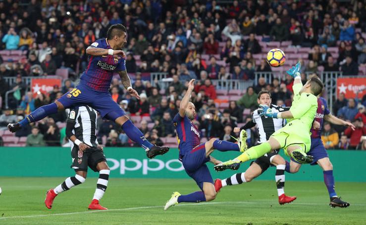 Las mejores imágenes del Barcelona-Levante