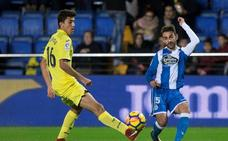 Andone da un merecido empate al Dépor ante el Villarreal