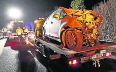 Tres muertos en Cantabria en una colisión provocada por un kamikaze en la A-8