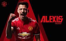 Alexis Sánchez ya es el '7' del Manchester United