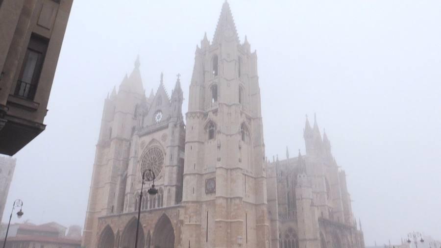 La niebla envuelve León capital