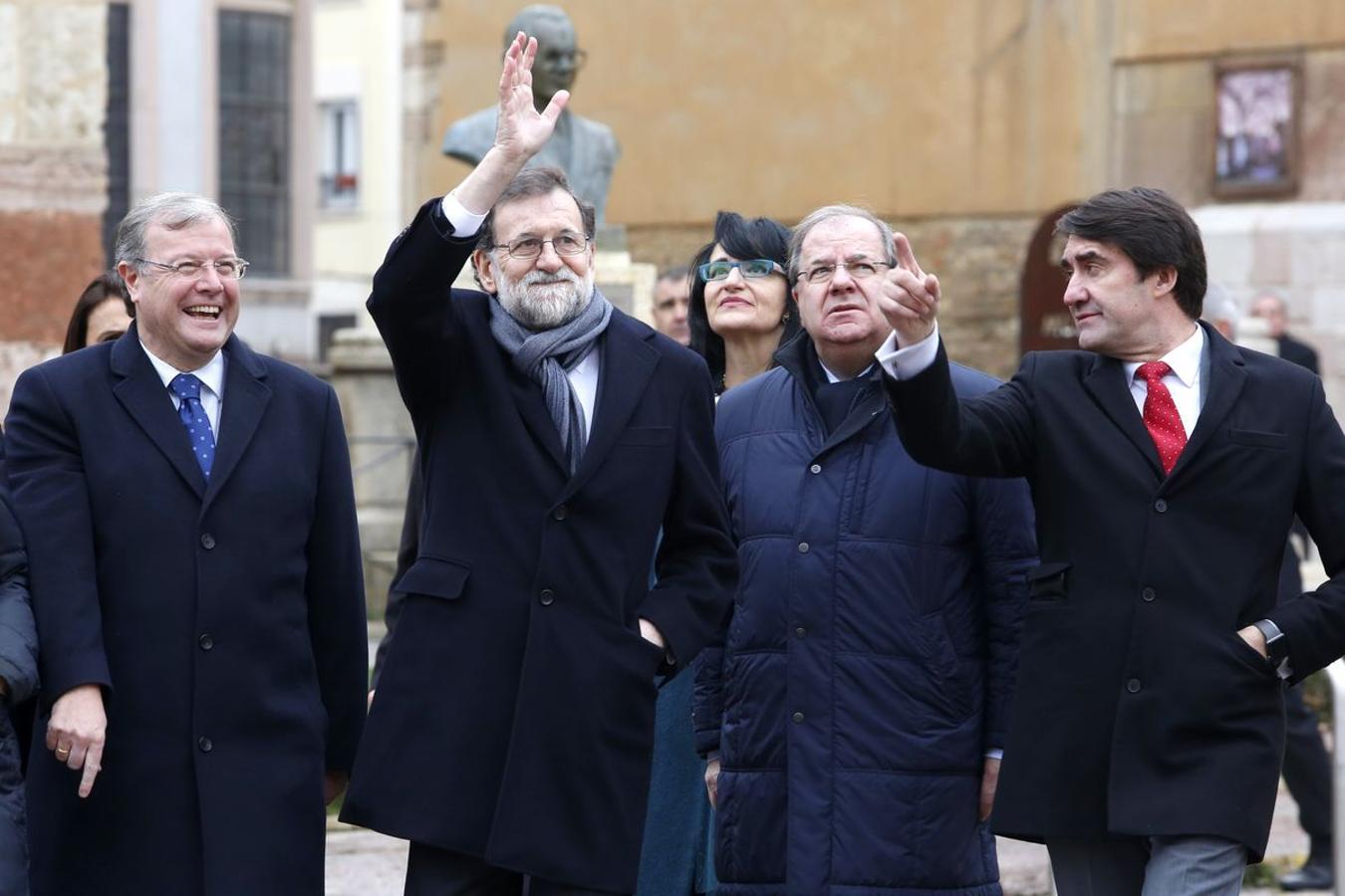 Mariano Rajoy visita León (I)
