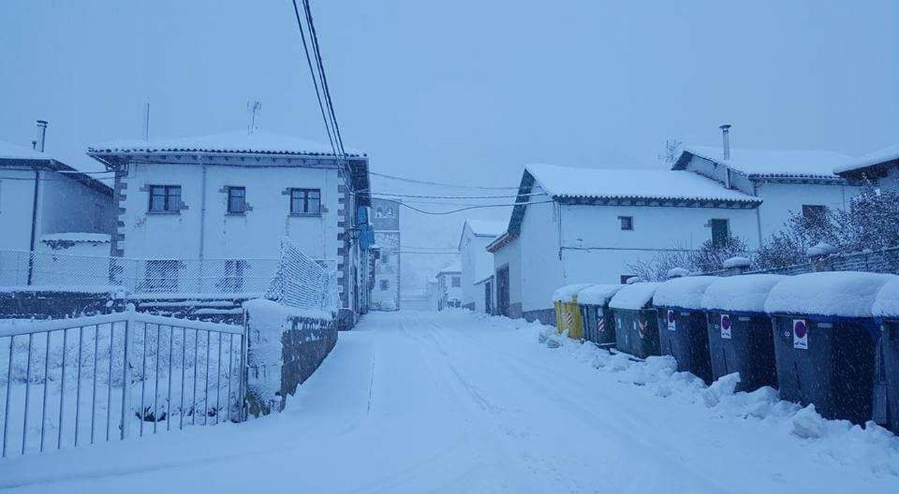 La nieve vuelve a León