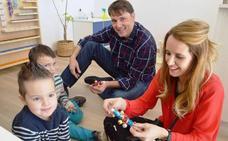 Un taller musical de hijos y padres en Peñacorada