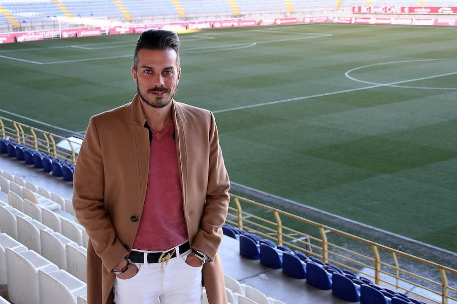 Rubén de la Barrera, técnico de la Cultural y Deportiva Leonesa