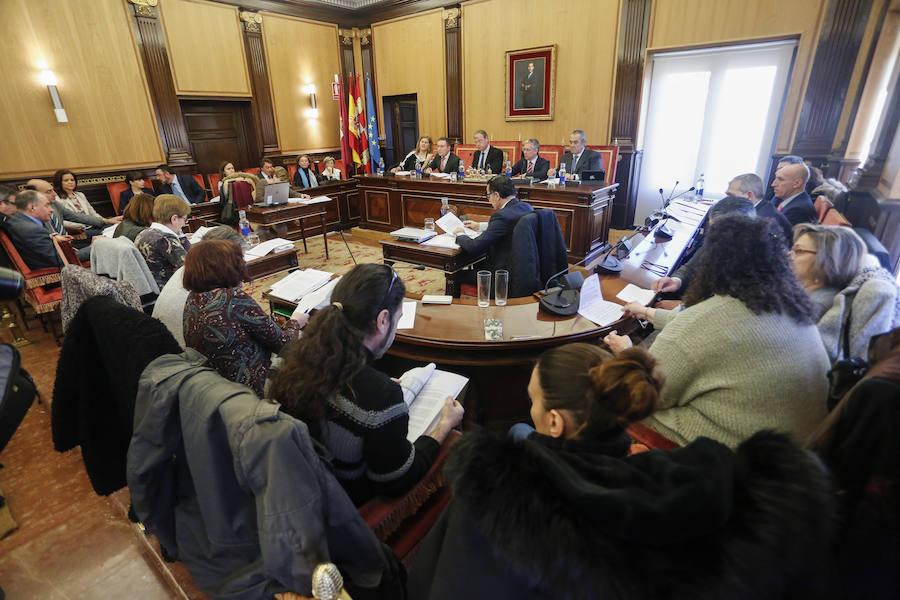 Pleno Ordinario del Ayuntamiento de León