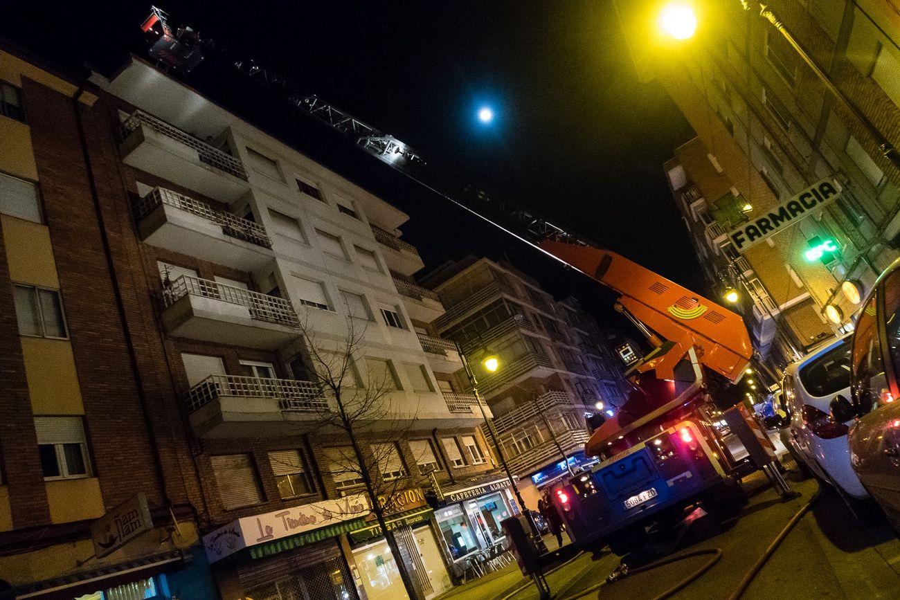 Incendios en León