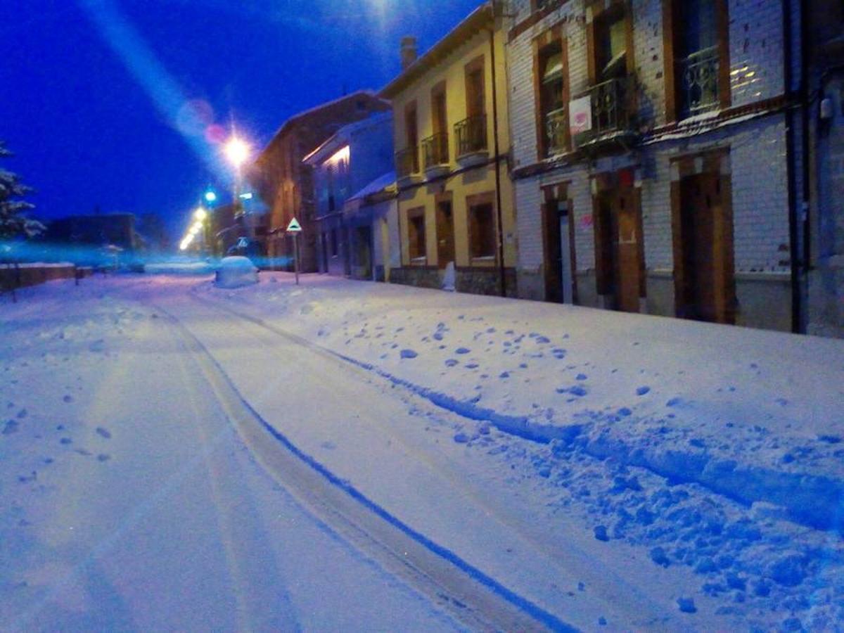 La provincia de León se tiñe de blanco