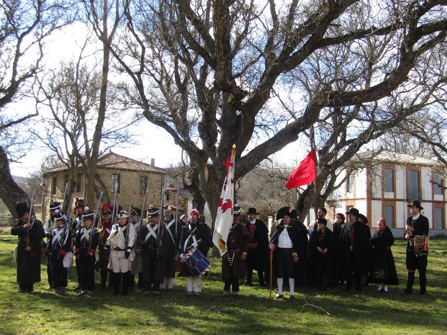 Turienzo de los Caballeros rememora la batalla de 1809