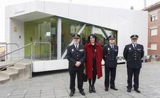 Zurita ve Astorga como una ciudad «tranquila y segura» en su visita a la Comisaría de Policía Nacional