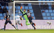 Un gol de Gerard Moreno evita la remontada del Celta en Balaídos