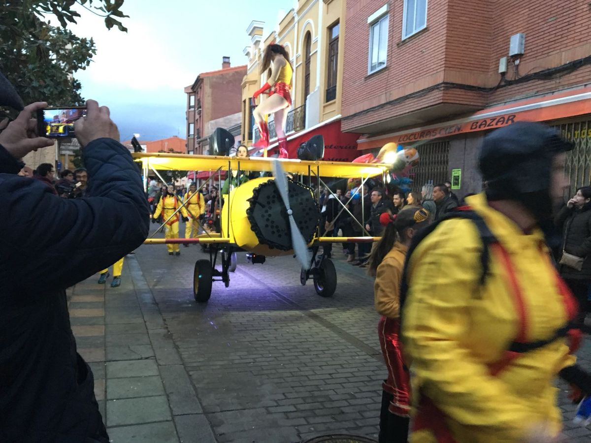 Desfile de Carnaval en Valencia de Don Juan