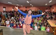 Nando Caneca, el artista invitado a la Gala Infantil de Carnaval de La Virgen