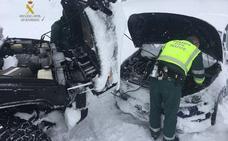 La Guardia Civil realiza más de 950 auxilios con motivo del temporal de nieve en la provincia