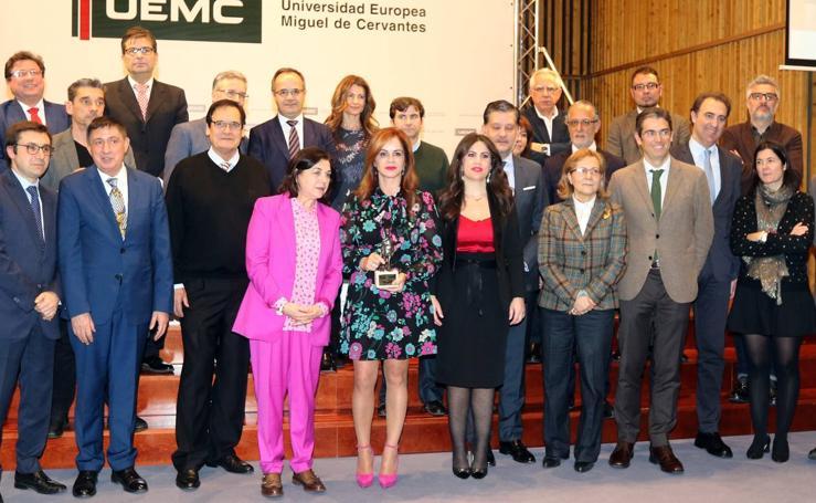 Silvia Clemente recibe el X Premio al Personaje Público de Castilla y León