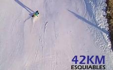 El esquí en León es de película