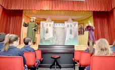 Los alumnos del Colegio Bilingüe Divina Pastora disfrutan de un teatro en inglés