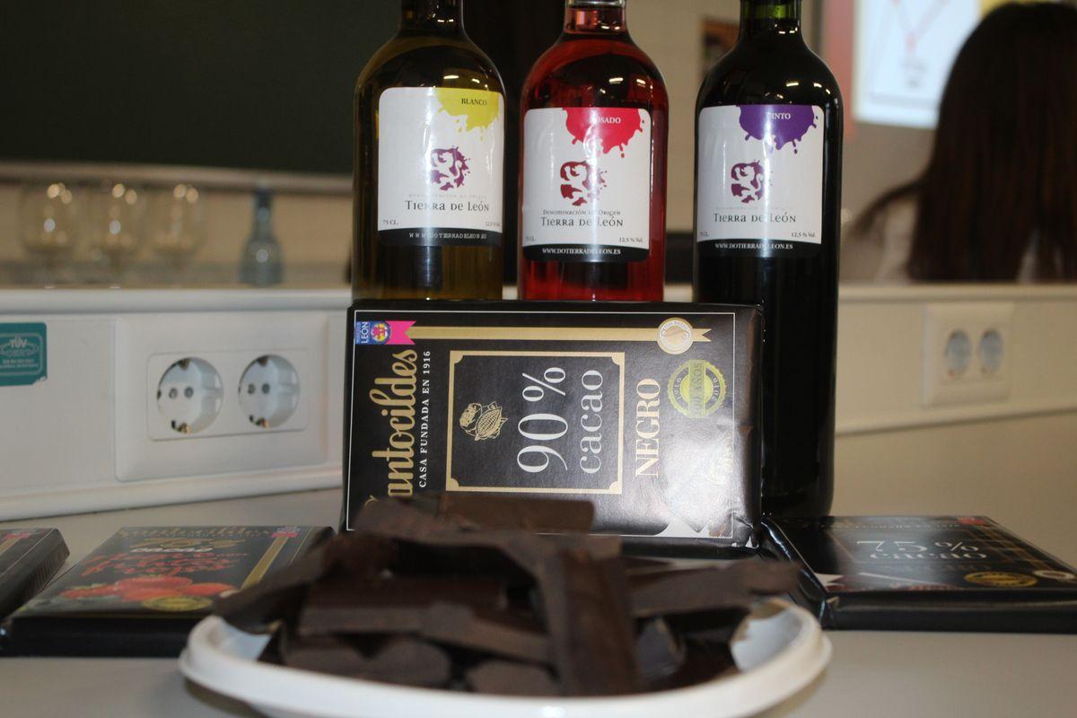El maridaje perfecto entre el vino y el chocolate