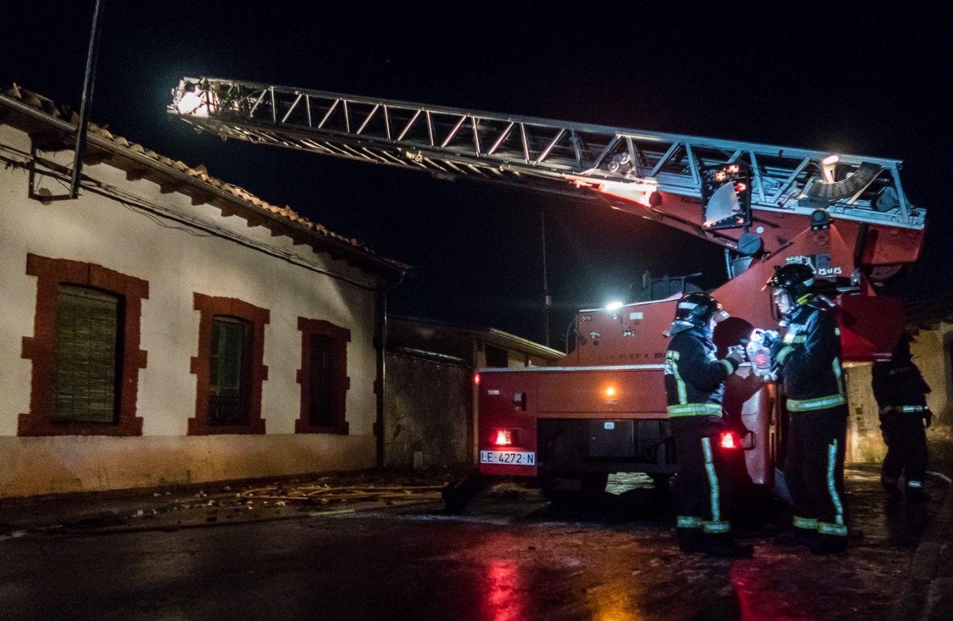 Incendio en Val de San Lorenzo