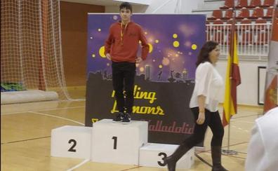 Raul Cárcel, campeón de salto de Castilla y León