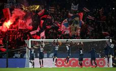 Detenidos dos ultras del PSG por los incidentes frente al hotel del Madrid