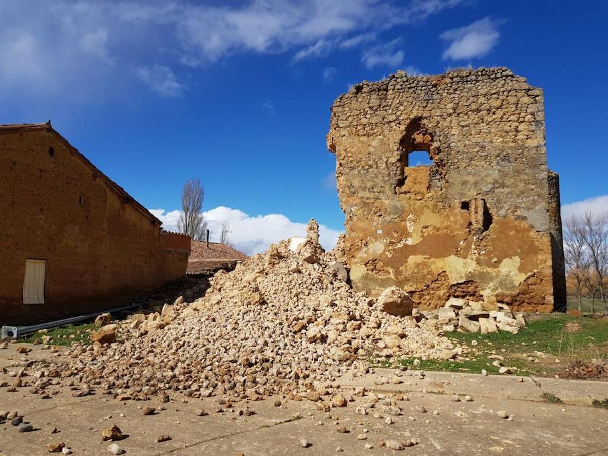 Las imágenes del derrumbe