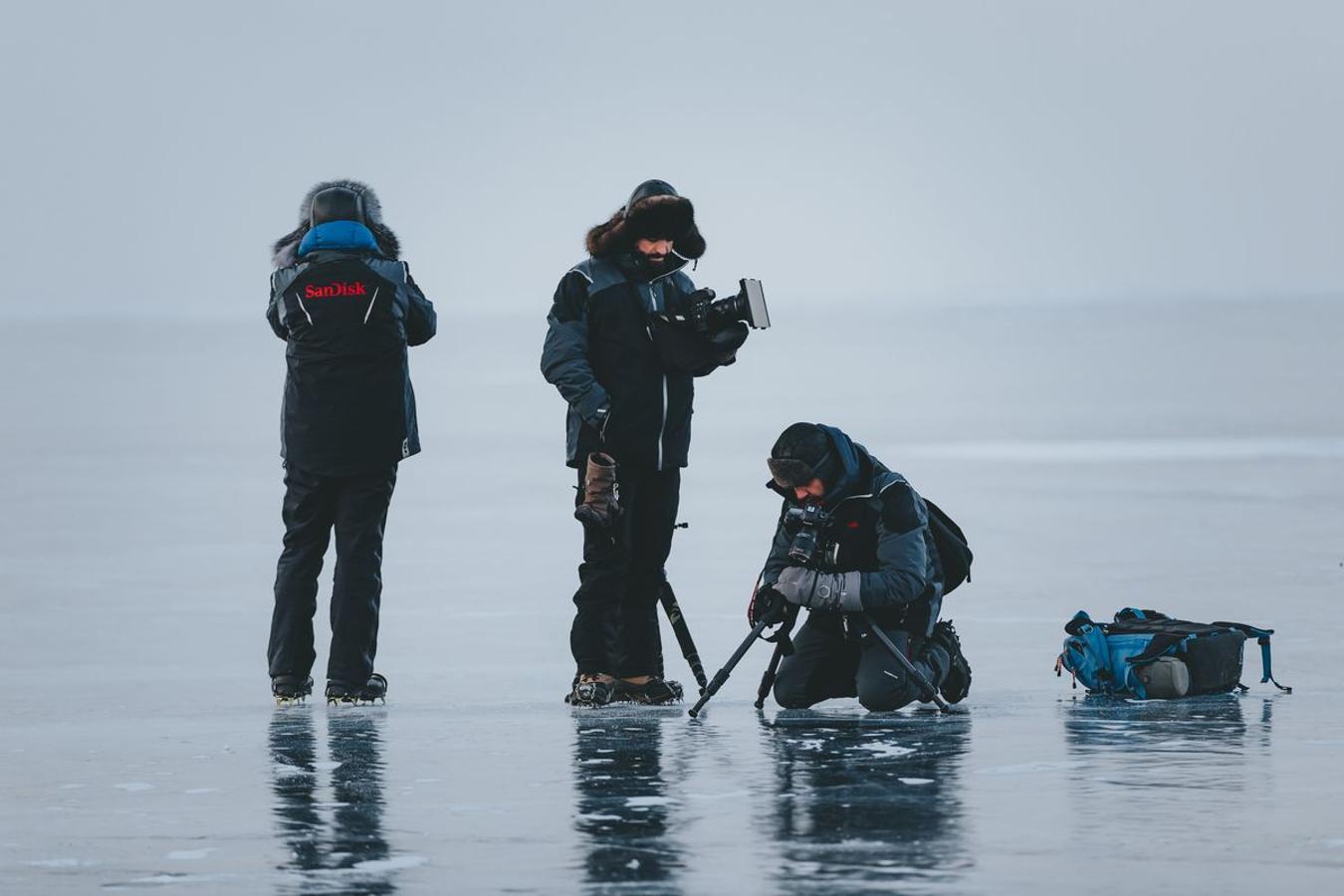 La aventura helada en el Lago Baikal