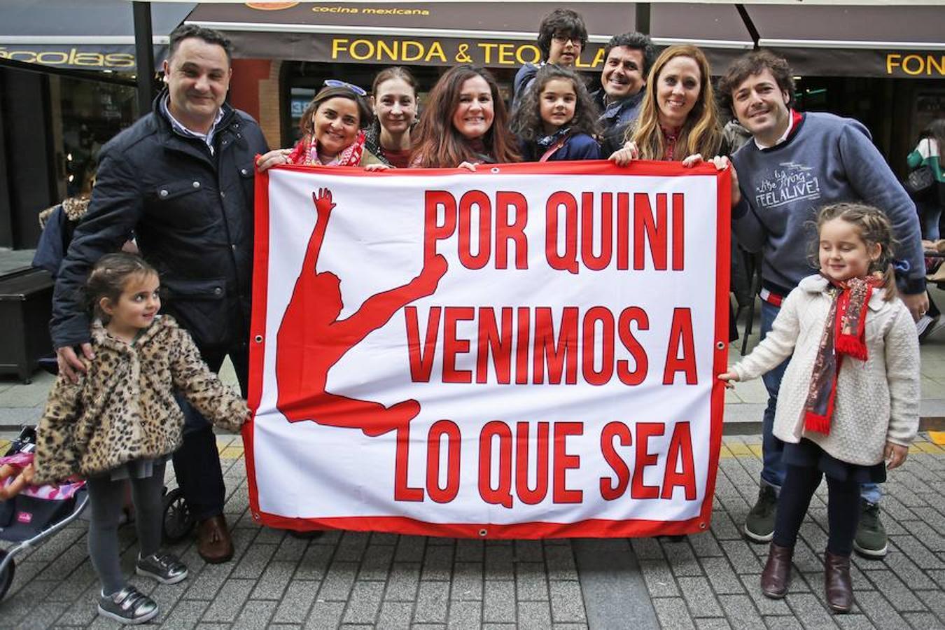 Homenaje culturalista a Quini
