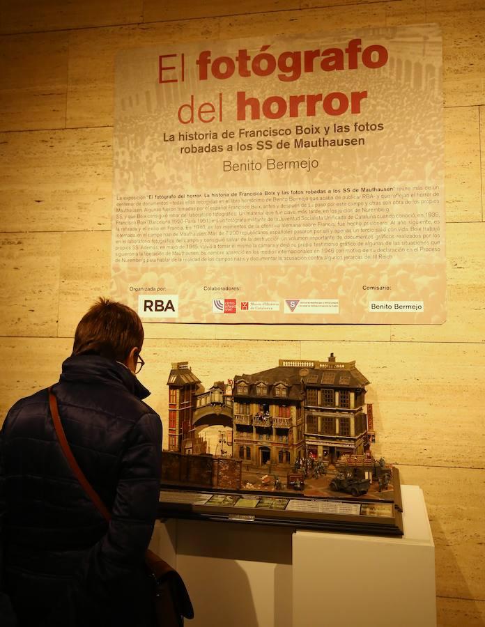 Exposición sobre el fotógrafo de Mauthausen, Francesc Boix, en Ponferrada