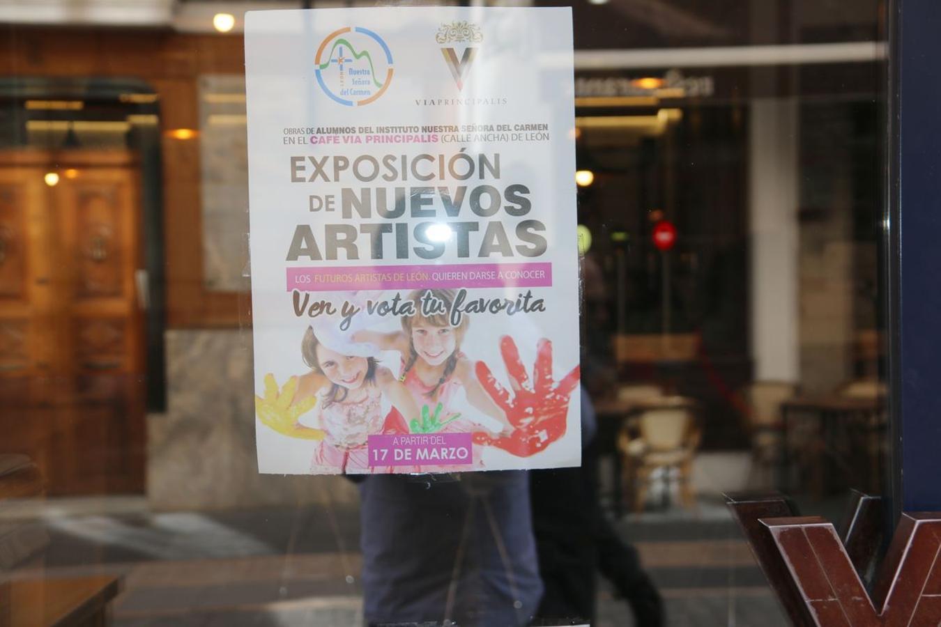 Exposición alumnos de Carmelitas Vedruna en el Vía Principalis