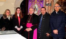 El obispo de Astorga 'abre' la Semana Santa en Santa Marina del Rey