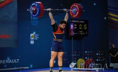 Alberto Fernández, bronce en arrancada en el Europeo de Bucarest