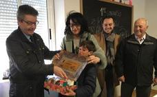 Teresa Mata acude a probar las mejores torrijas de Gradefes