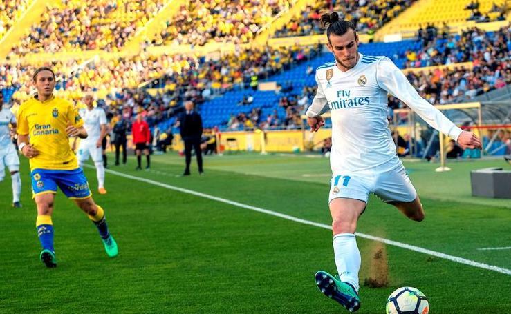 Las mejores imágenes del choque entre Las Palmas y Real Madrid