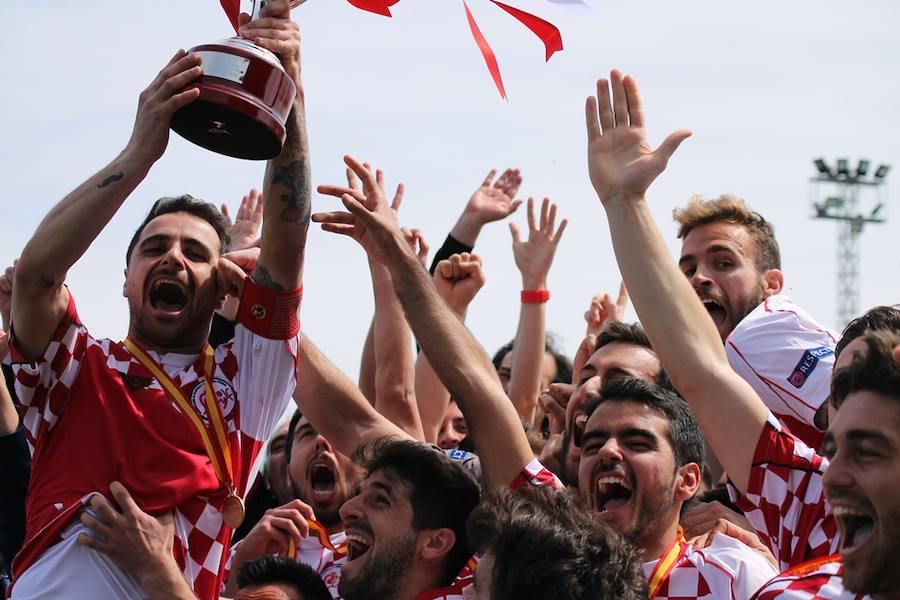 Castilla y León, campeona de la Copa de Regiones UEFA