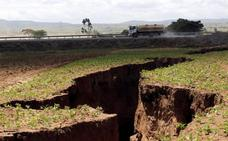 Aparece una enorme grieta en Kenia que podría dividir África en dos