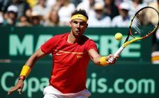 Nadal: «Me alegra ver mi nivel»