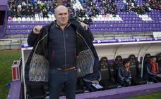 Luis César Sampedro, destituido como entrenador del Real Valladolid