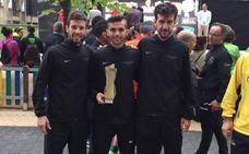 Raúl Celada, campeón de España de 10 kilómetros por equipos