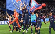 El PSG conquista el título bailando al Mónaco